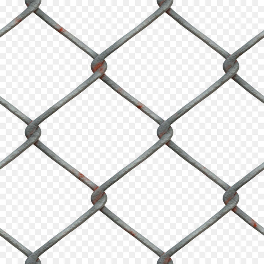Chain-link fencing Fence Metal Mesh - Fence png download - 3000*3000 ...