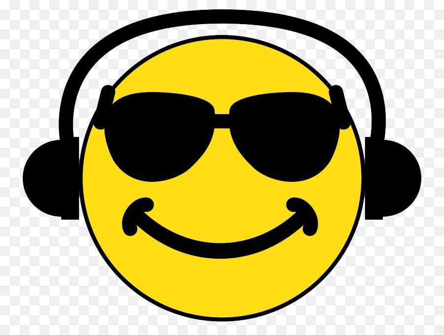 smiley headphones emoticon clip art smiley png download 836 678 rh kisspng com