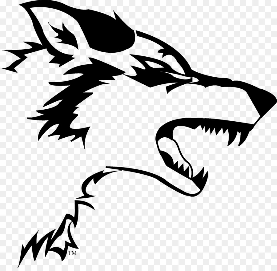 gray wolf logo decal sticker wolf png download 2313 2242 free