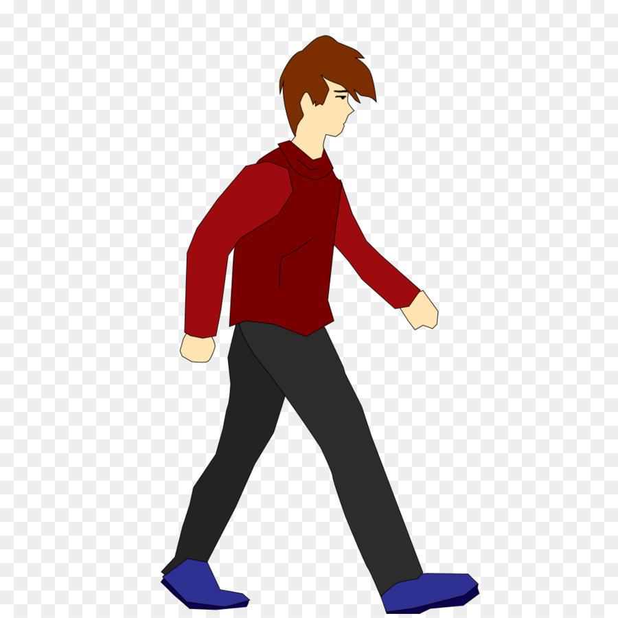 2d character walk cycle