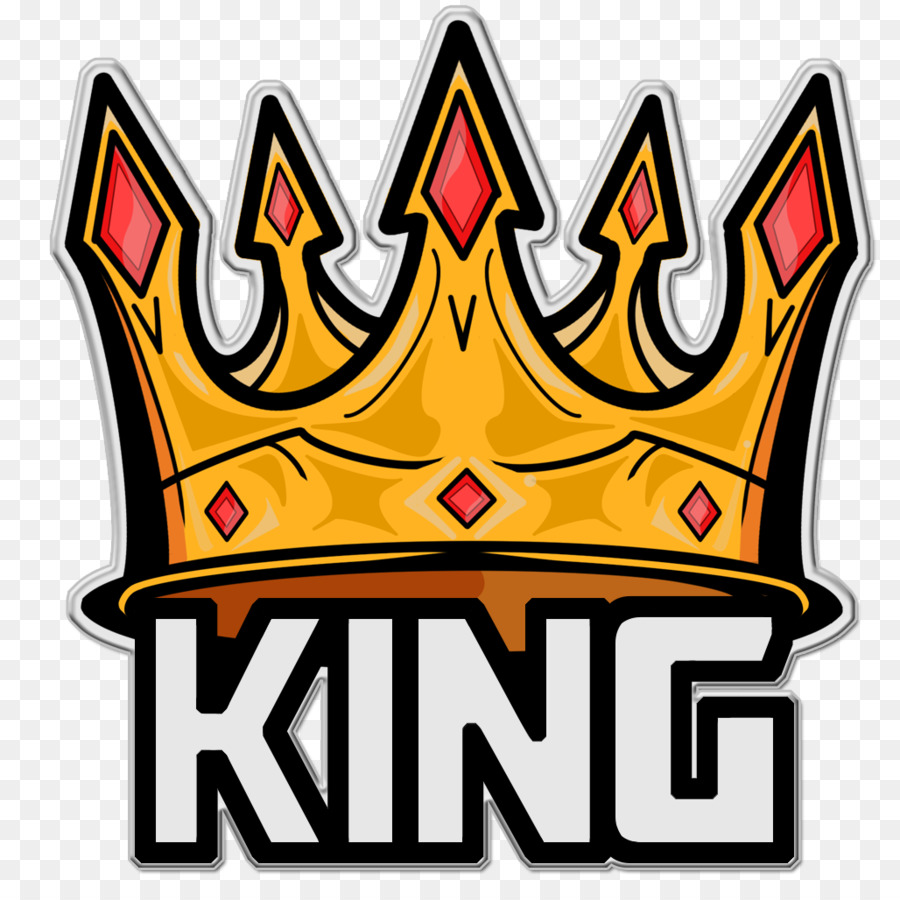 Logo king sticker area text png
