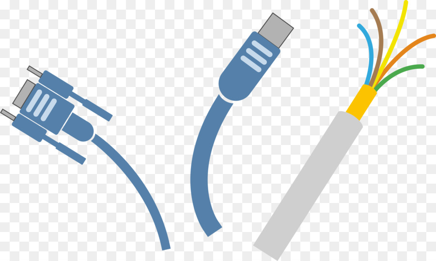 Electrical cable Electrical Wires & Cable Network Cables Clip art ...