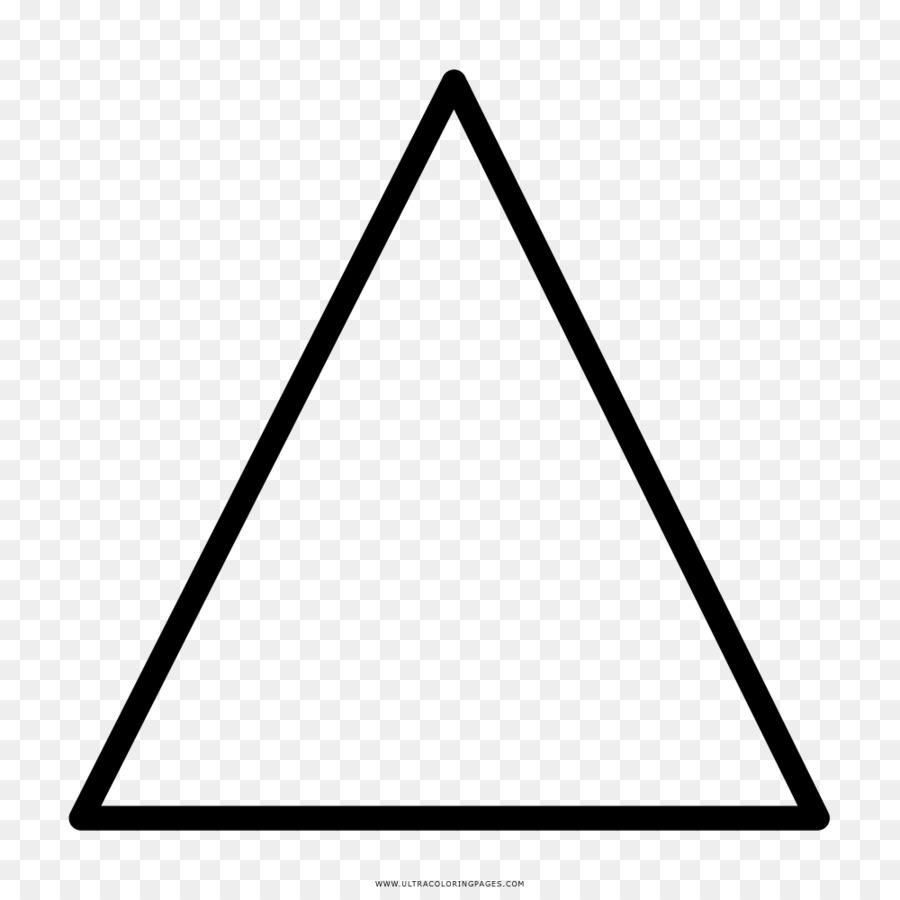 Triángulo de Dibujo de libro para Colorear Área Ausmalbild ...