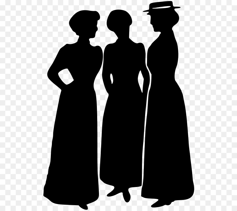 dcf502d5d16 Silhouette Female Clip art - victorian png download - 577 800 - Free  Transparent Silhouette png Download.