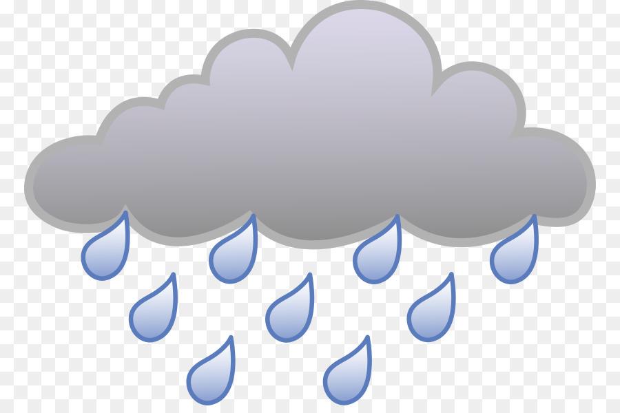 Cloud Rain Storm Clip art - cartoon cloud png download ...