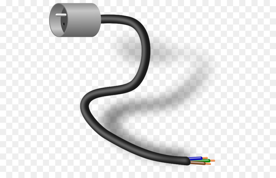 Electrical Wires & Cable Electrical cable Power cord Clip art ...