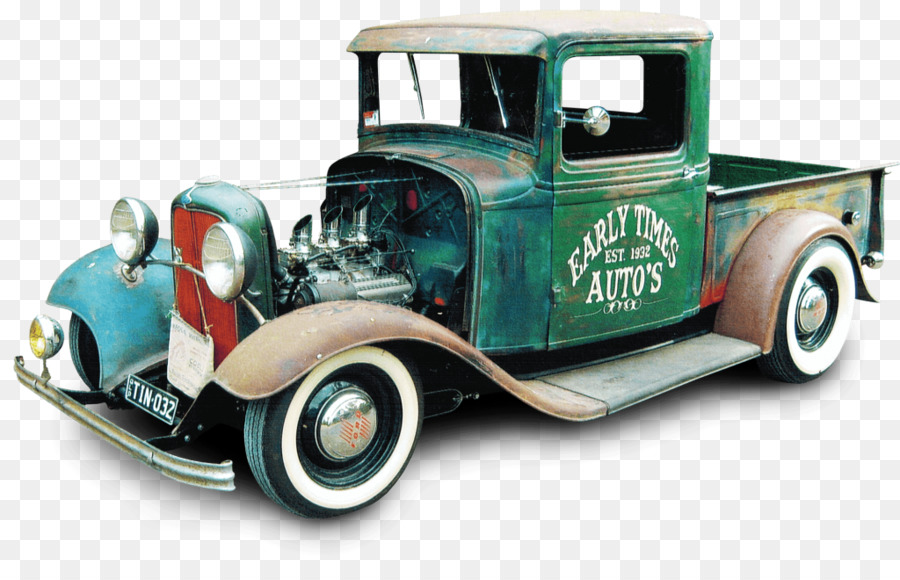 Vintage car Hot rod Pickup truck Classic car - hot rod png download ...