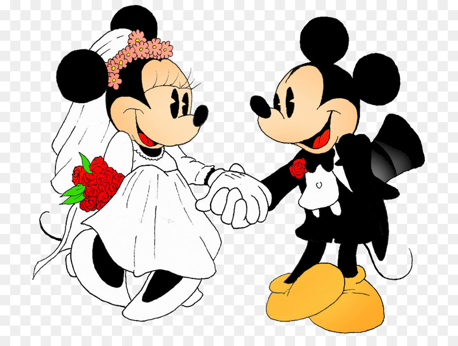 Mickey Mouse Minnie Mouse Wedding Invitation The Walt