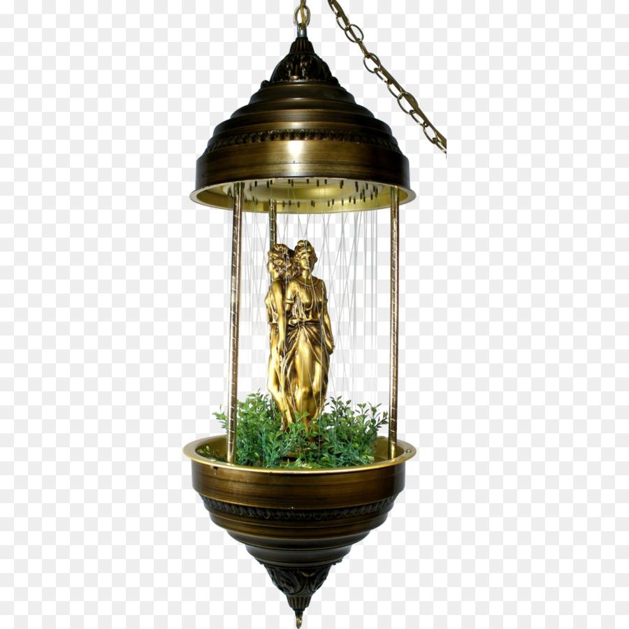 Oil lamp Lighting Light fixture Chandelier - fountain - Oil Lamp Lighting Light Fixture Chandelier - Fountain Png Download