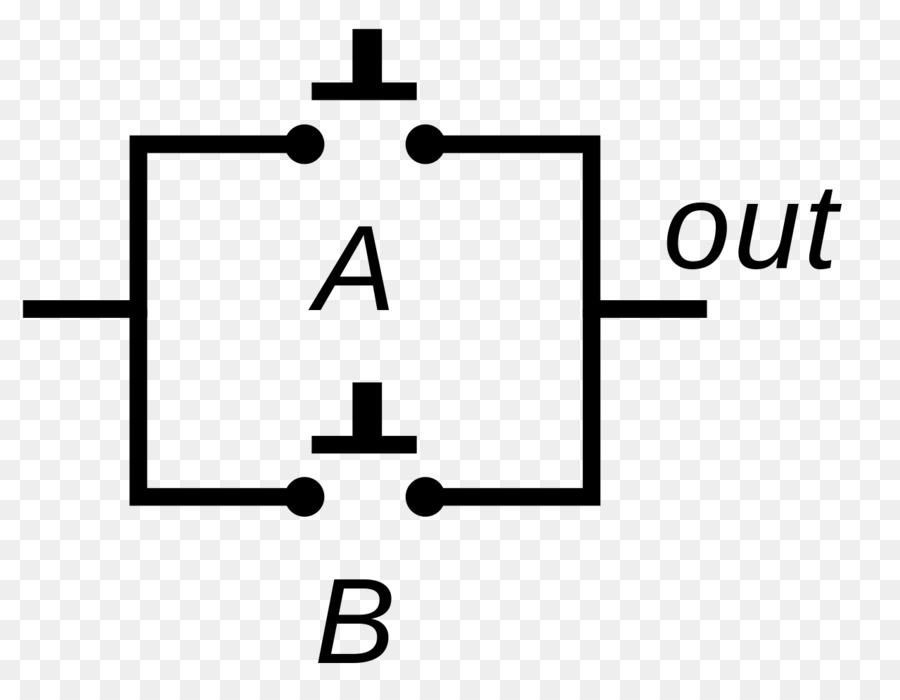 Logic Gate Or Gate And Gate Truth Table Inverter Circuit Png