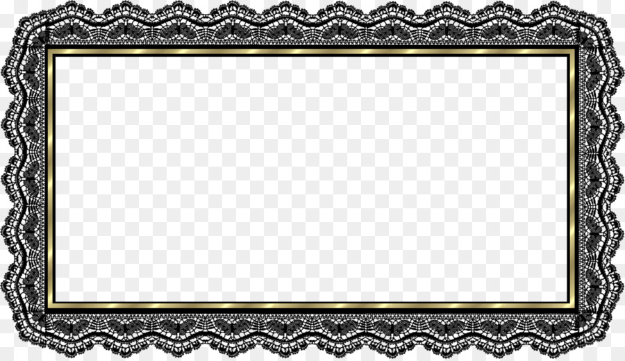 Picture Frames Clip art - Lace Boarder png download - 1906*1095 ...