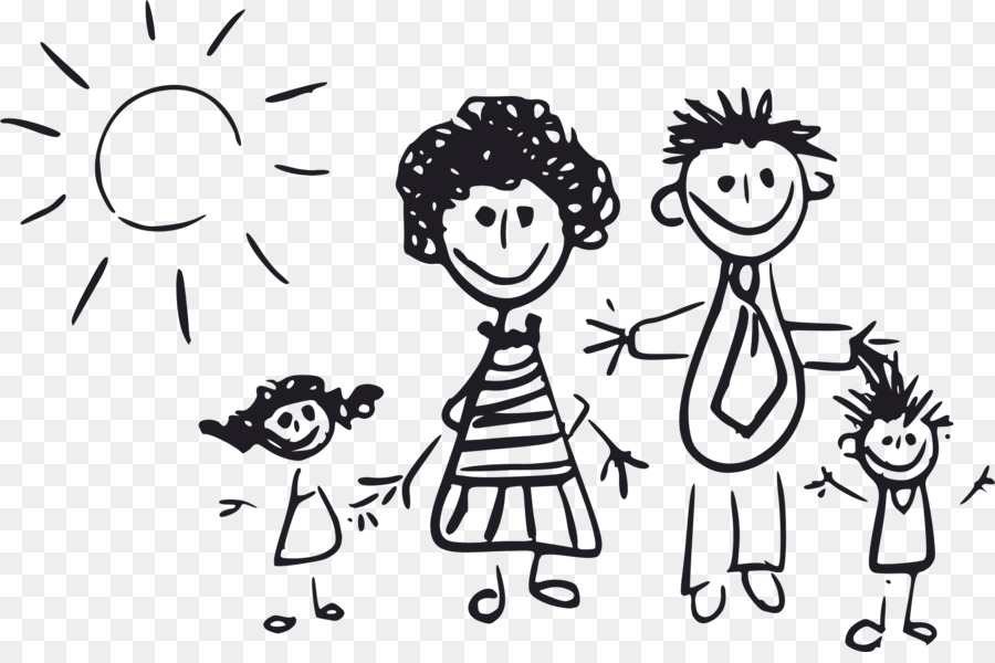 Image result for parents image black and white clip art