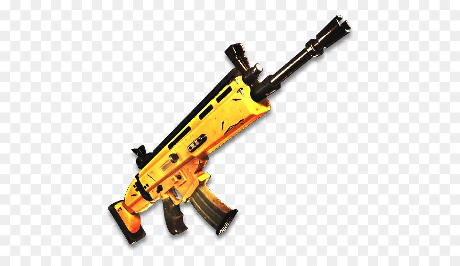 fortnite battle royale fn scar weapon firearm scar png