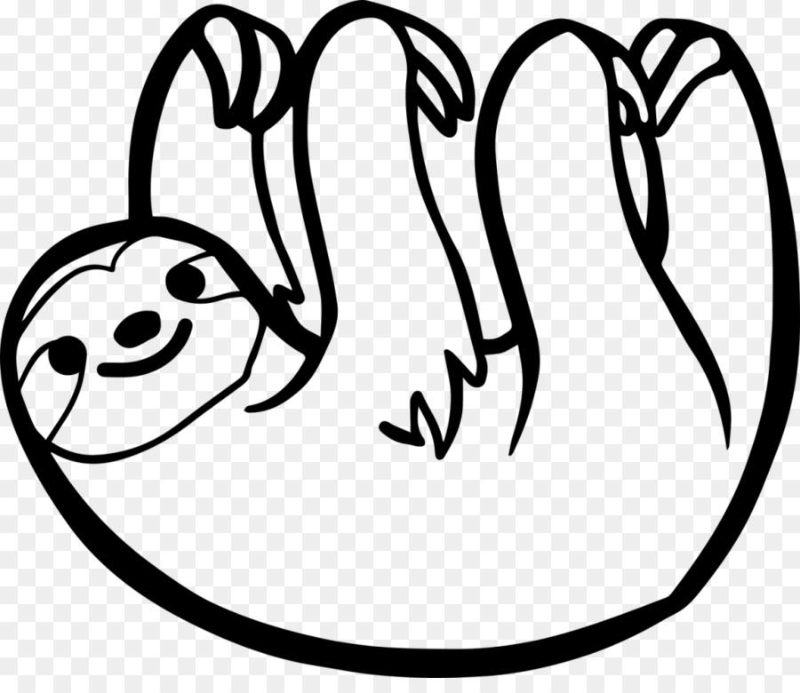 Sloth T Shirt Paper Decal Sticker Hand Drawn Png