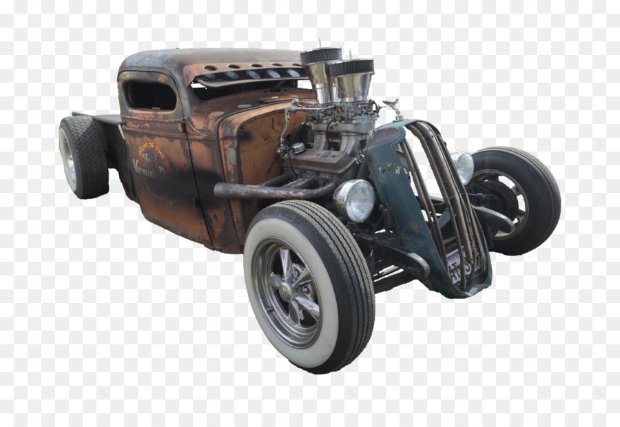 Car Pickup truck Rat rod Hot rod Motor vehicle - hot rod png ...