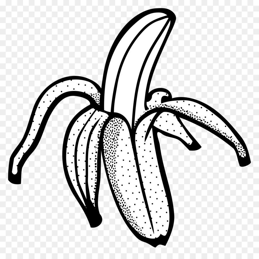 Banana Bread Line Art Drawing Clip