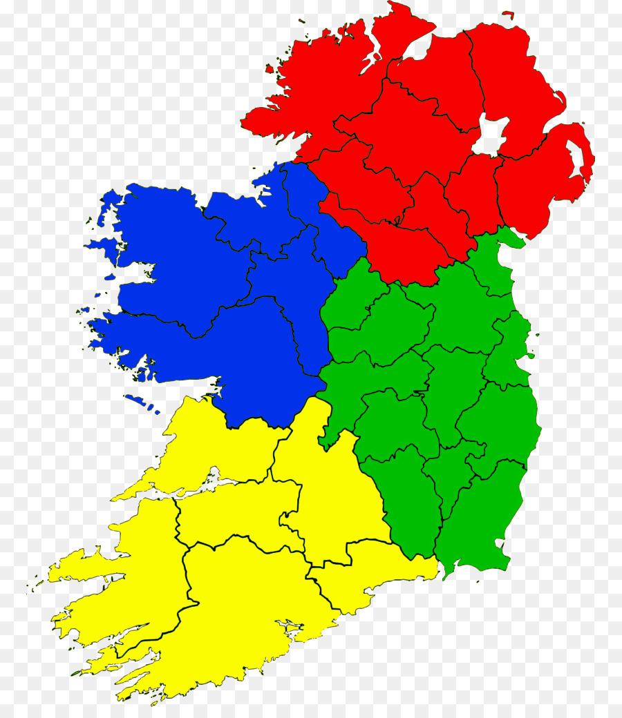 Counties of Ireland United Kingdom Map - ireland png download - 823 ...