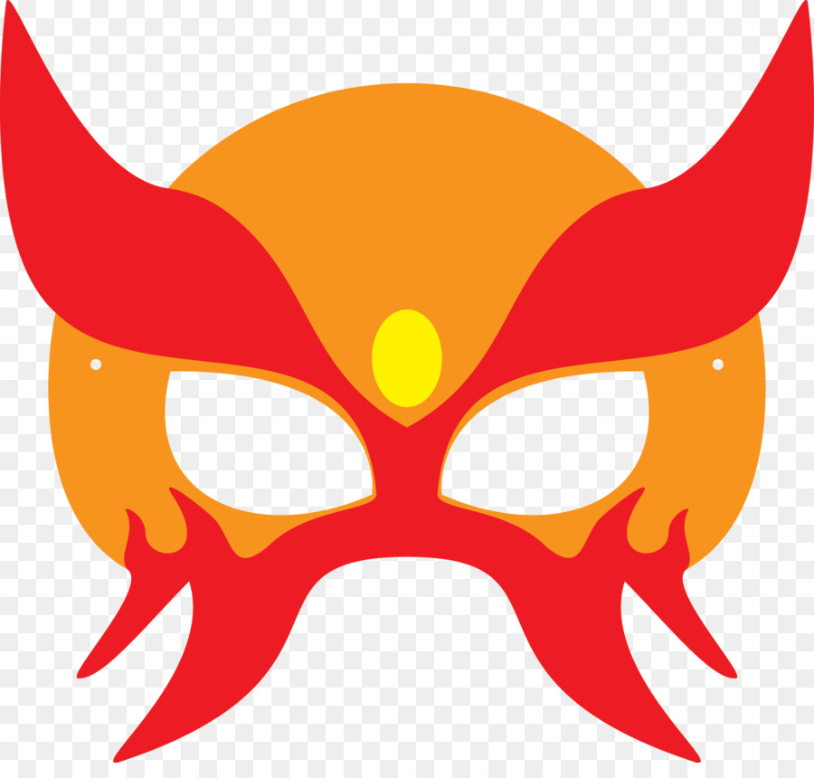 Superhero Mask Template Masquerade ball Halloween costume - mask png ...