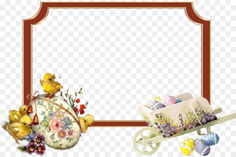 Easter Picture Frames PaintShop Pro Pattern - easter frame png ...
