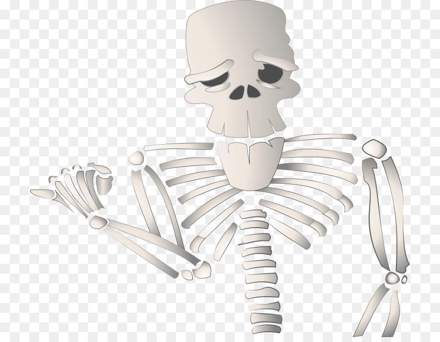 Dibujos animados esqueleto Humano de Dibujo - Esqueleto Formatos De ...