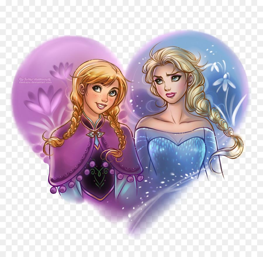 elsa rapunzel anna disney princess drawing elsa anna png download