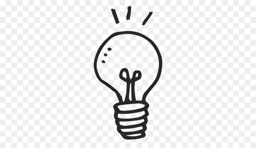 Incandescent Light Bulb Idea Clip Art