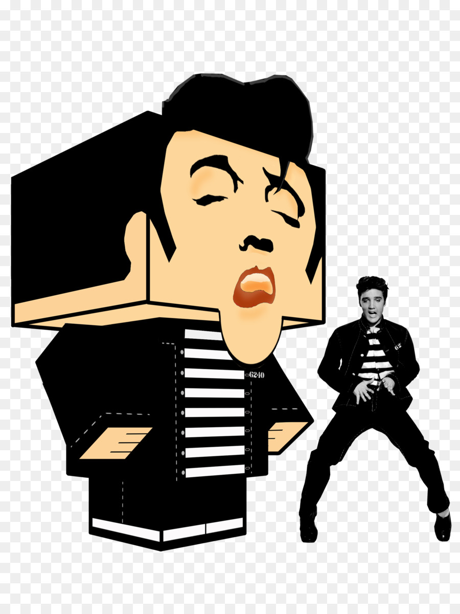 Paper toys Paper model Rock and roll - ELVIS png download - 900*1191 ...