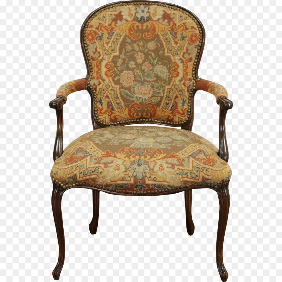 Table Chair Antique furniture Upholstery - Old Couch - Table Chair Antique Furniture Upholstery - Old Couch Png Download