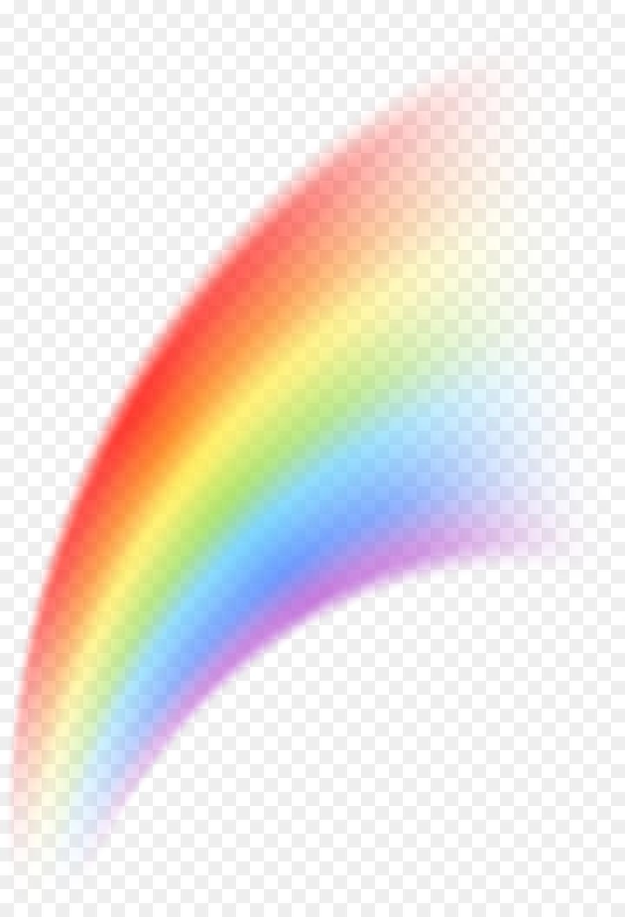 Rainbow Desktop Wallpaper Curve Clip art - rose border frame png ...
