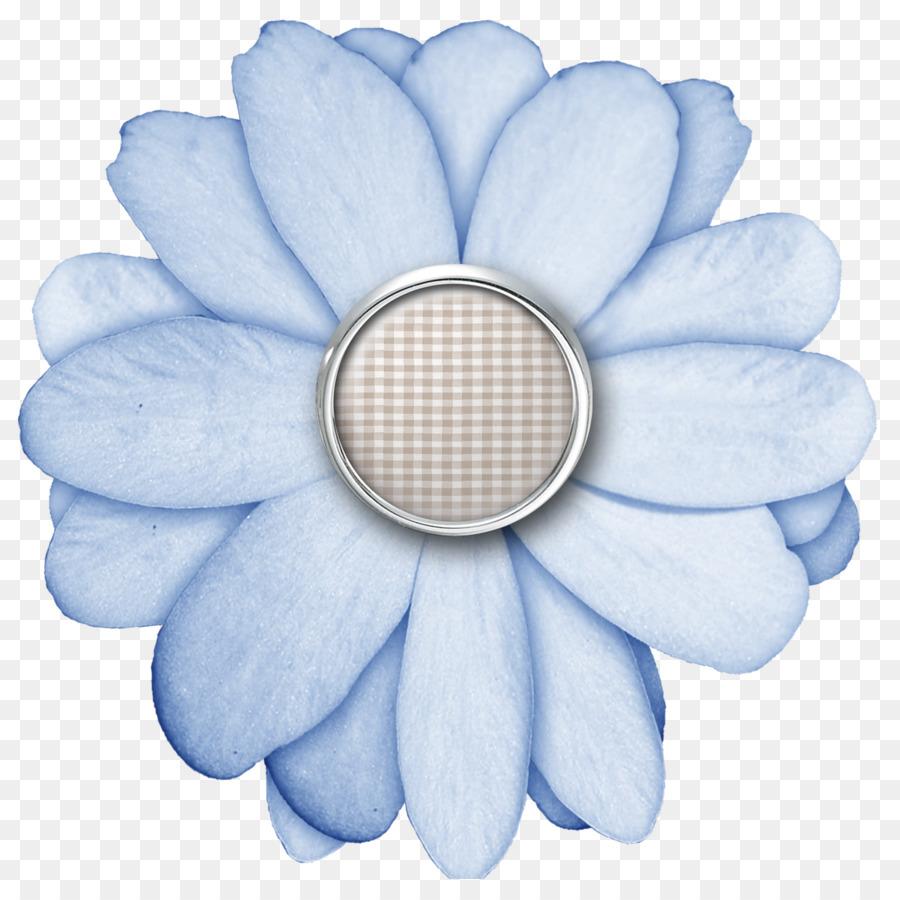 Flower Digital Scrapbooking Paper Button Scrapbooking Png Download