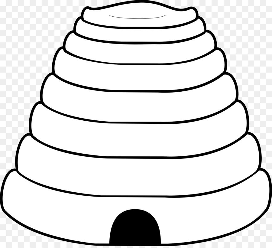 Colmena libro para Colorear de la abeja de la Miel Clip art ...