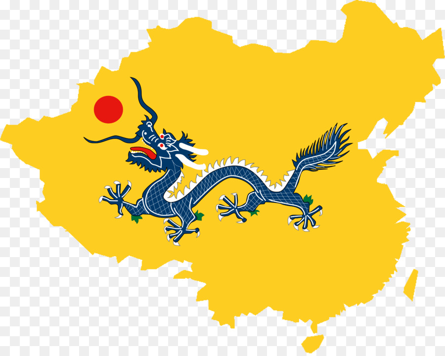China Flag Of The Qing Dynasty First Sino Japanese War Chinese