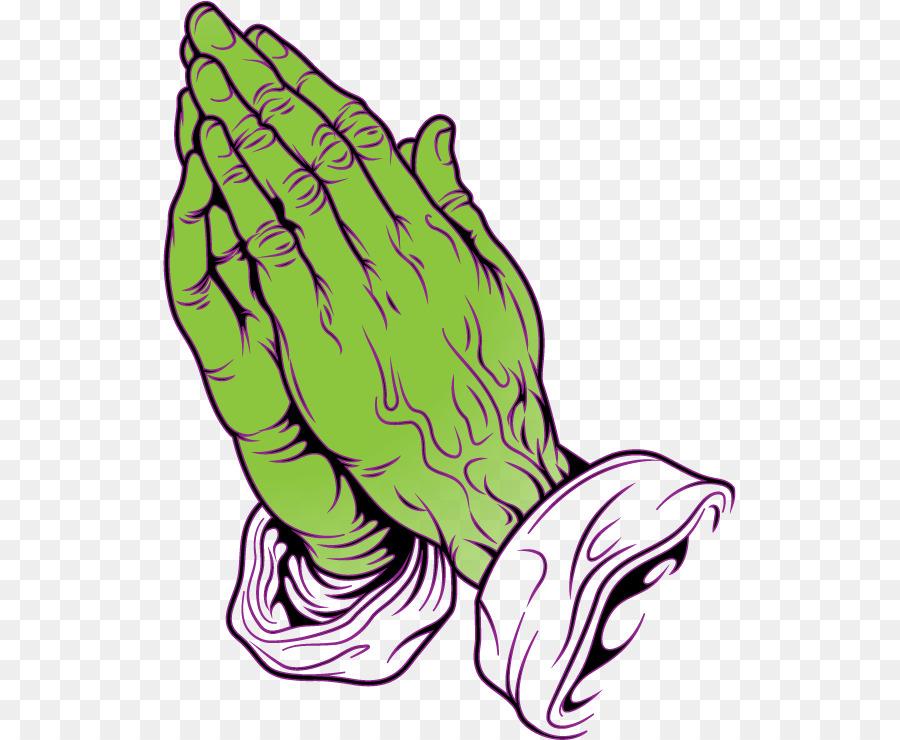 Las Manos en oración Dibujo Oración para Colorear libro - la oración ...