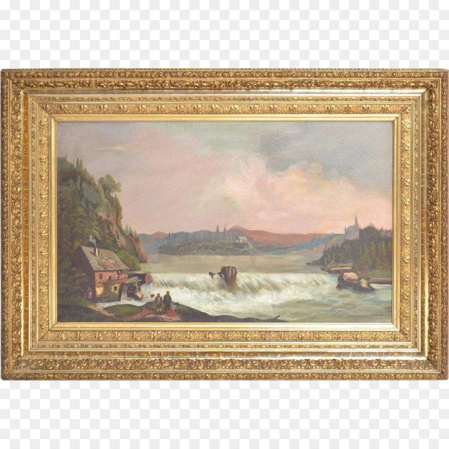 The Shepherdess Picture Frames Oil painting Conservation and ...