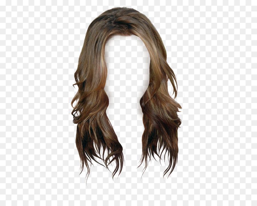 Brown Hair Wig Long Hair Wig 500 702 Transprent Png Free