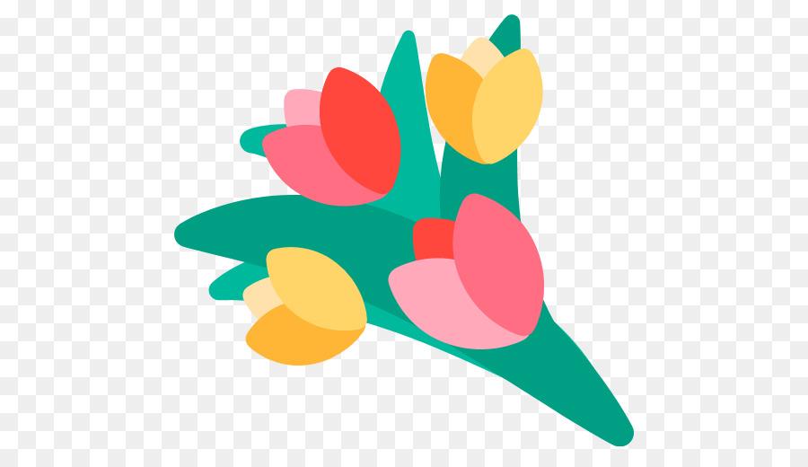 Emoji Flower Bouquet Text Messaging Symbol Poodle Png Download
