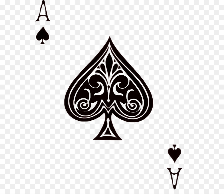 Texas Hold Em Ace Of Spades Playing Card Ace Card Png Download