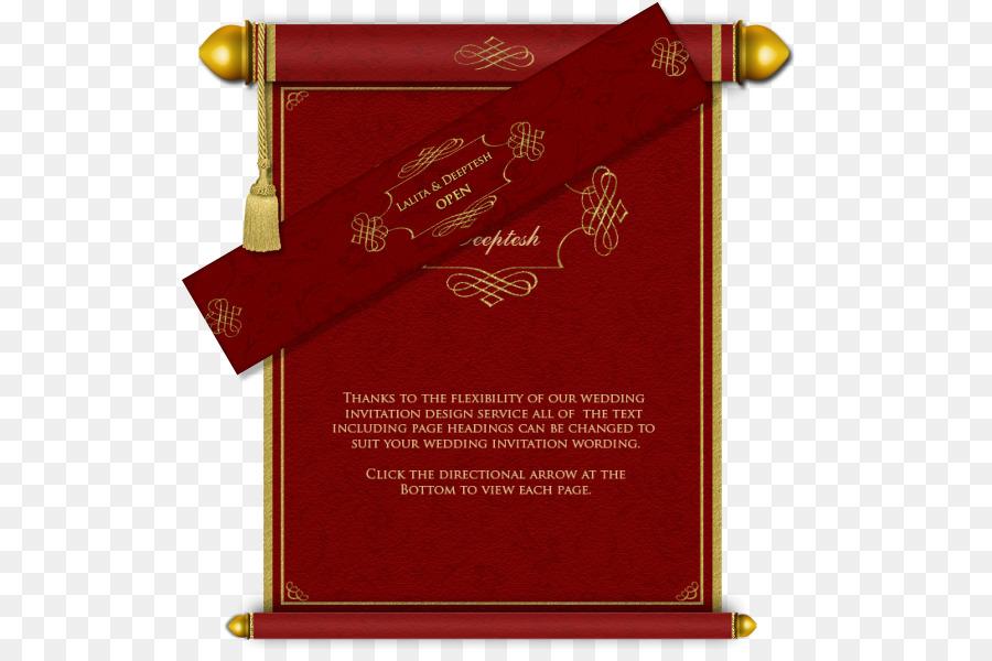 Wedding invitation Business Card Design Hindu wedding - invitation card png download - 574*589 - Free Transparent Wedding Invitation png Download.