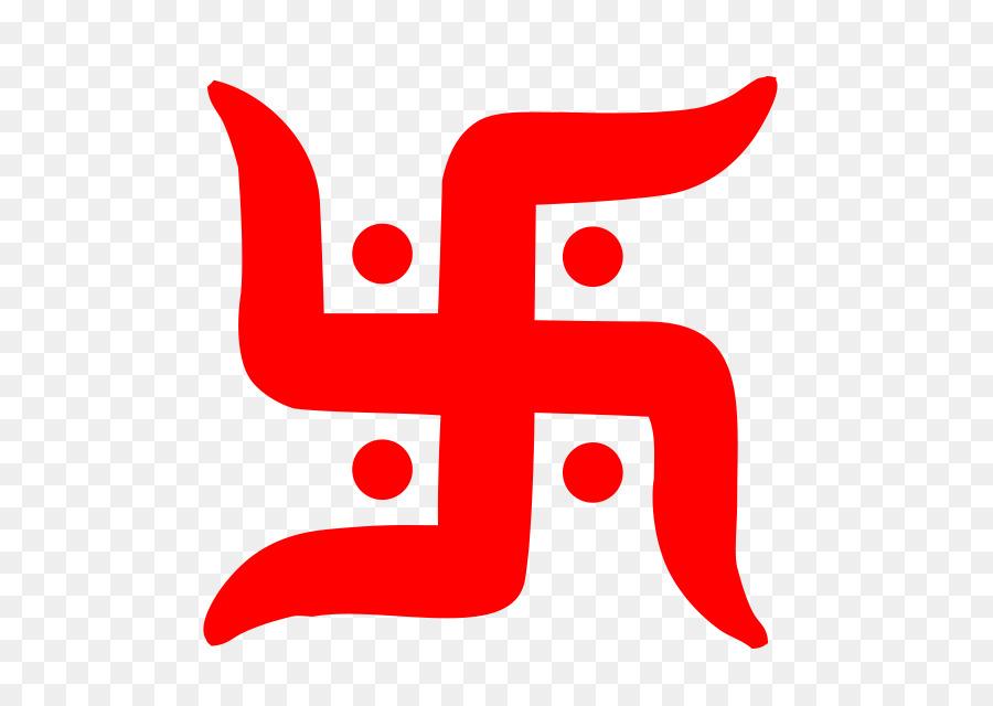 Ganesha Swastika Symbol Hinduism Om Om Png Download 640640