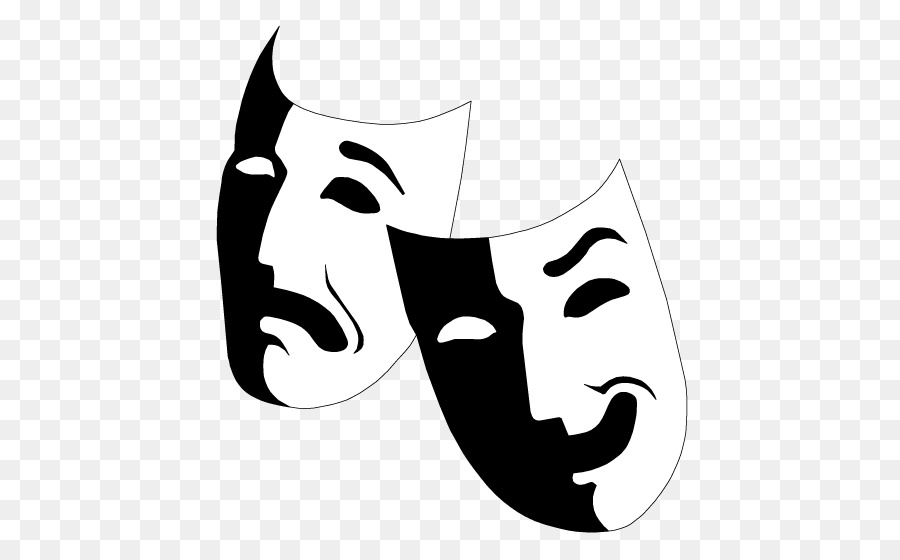 free clip art drama masks all about clipart