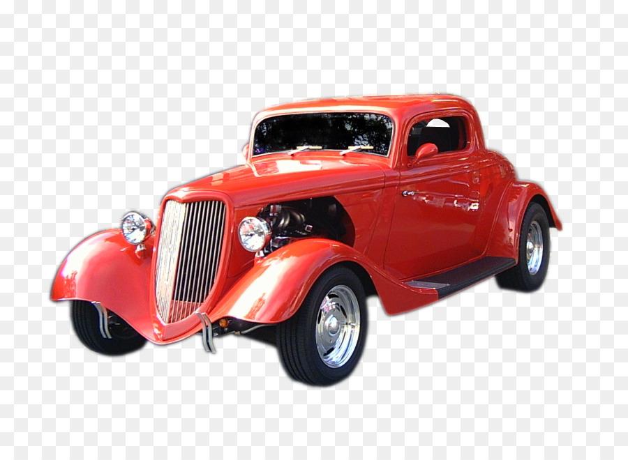 Vintage car Hot rod Motor vehicle Antique car - hot rod png download ...