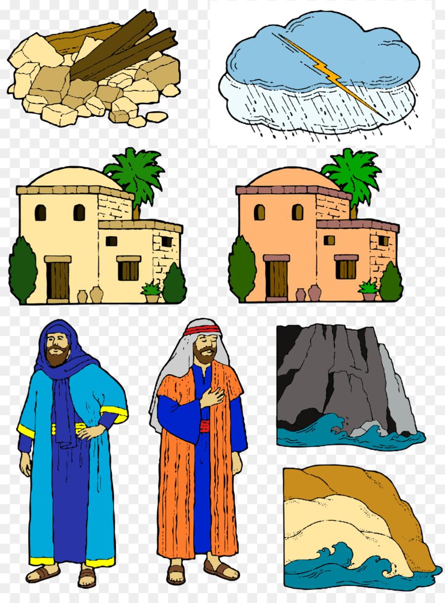 Casa sobre la Roca de la Biblia Parábola del Sabio y el Tonto de los ...