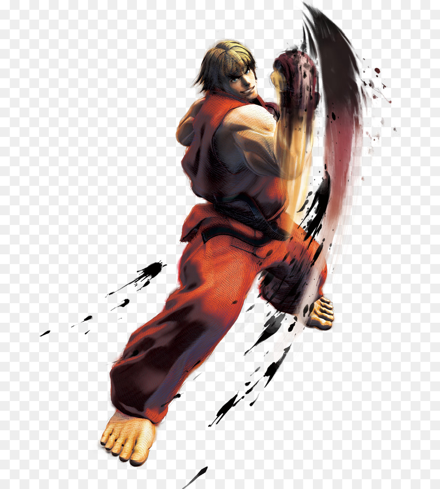 Super Street Fighter Iv Ken Masters Ryu M Bison Ken Png Download