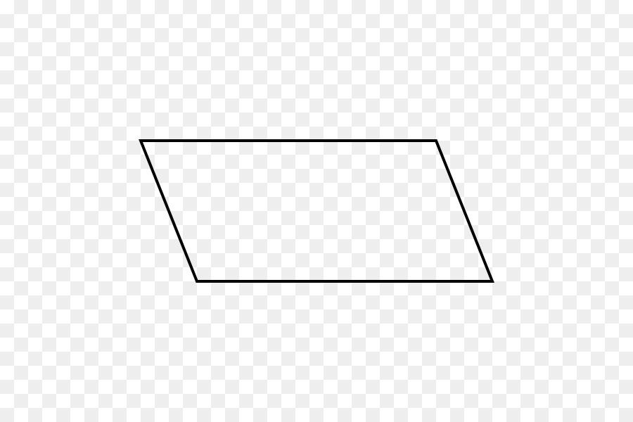 Parallelogram Line Art png download - 600*600 - Free Transparent
