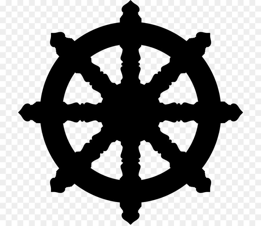 Dharmachakra Buddhism Buddhist Symbolism Wheel Of Dharma Png