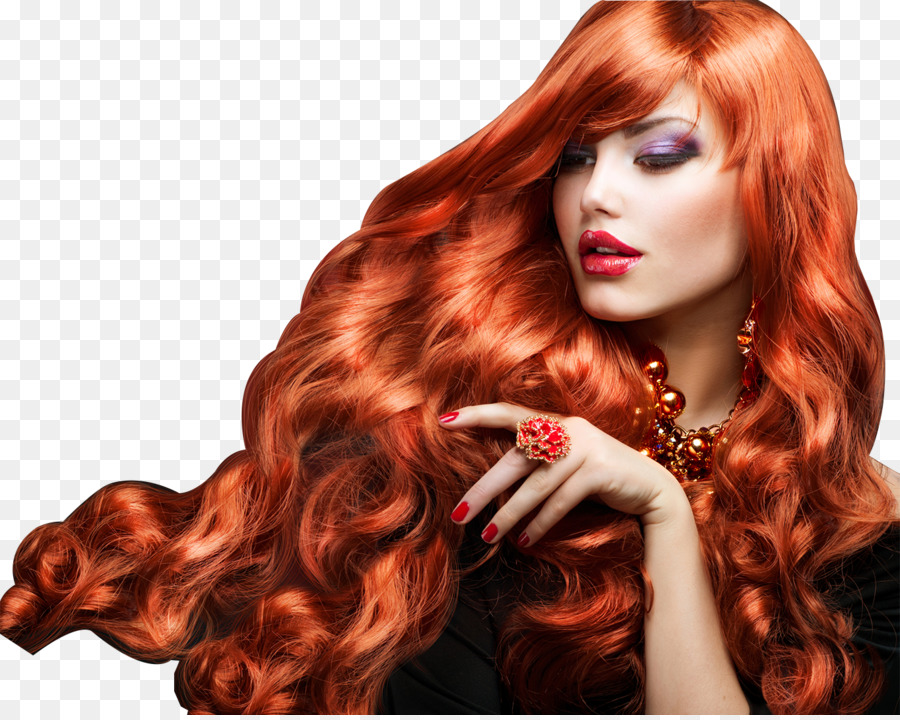 Red hair Human hair color Cosmetics Hairstyle - model png ...