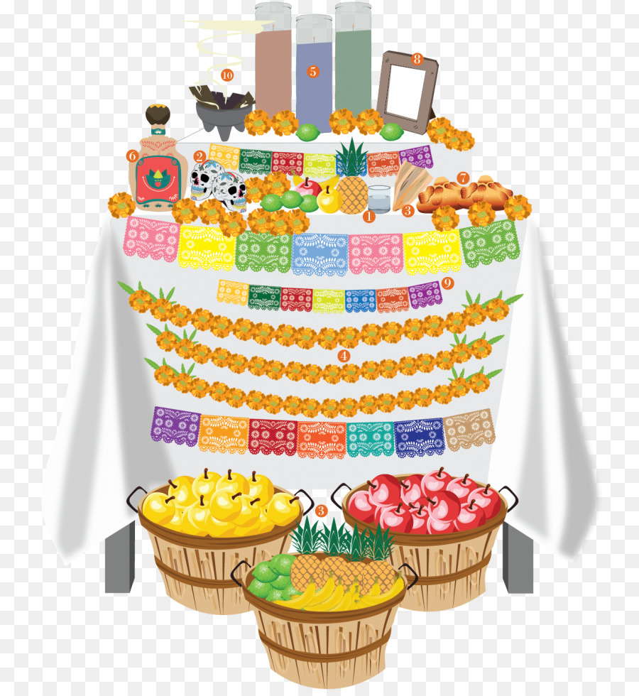 Day of the Dead Cake Ofrenda Food The DePaulia - altar png download ...