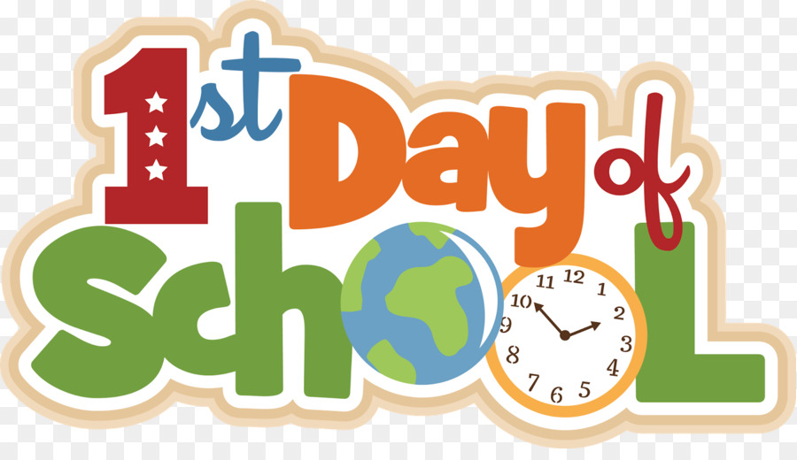 first day of school student day school clip art first png download rh kisspng com School Spirit Clip Art School Spirit Clip Art
