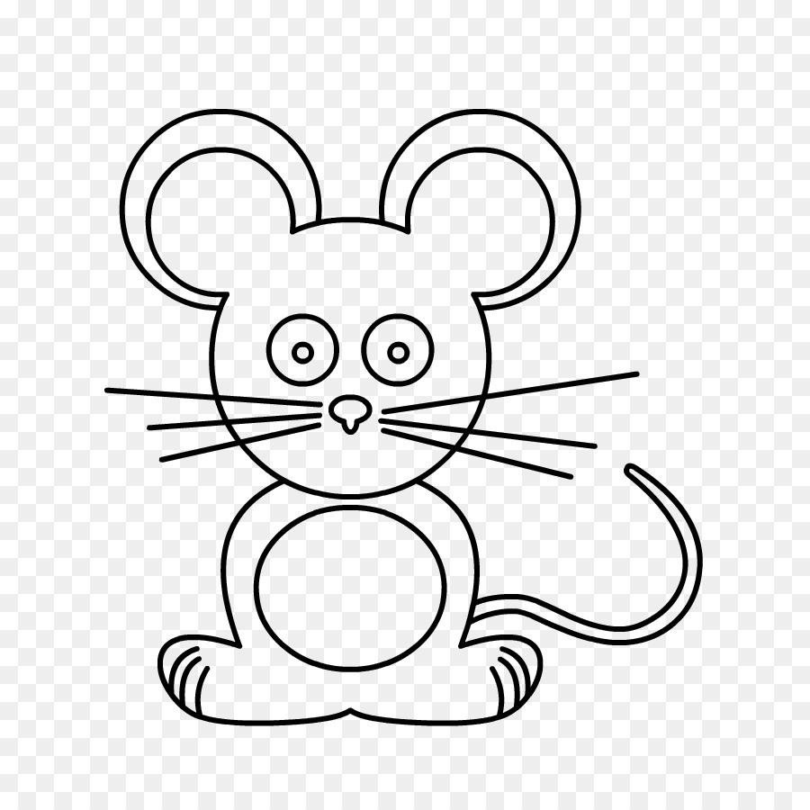 Gato Dibujo de Rata página para Colorear de arte de Línea - Oud ...