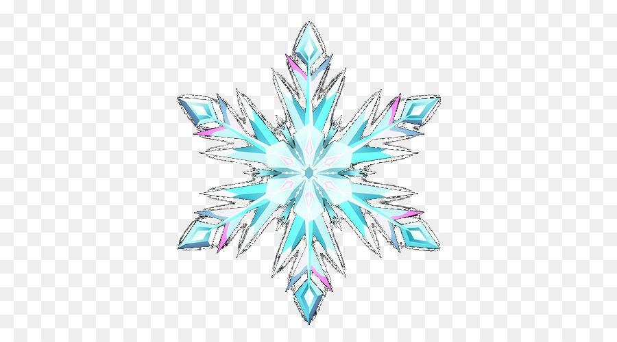 Elsa The Snow Queen Snowflake